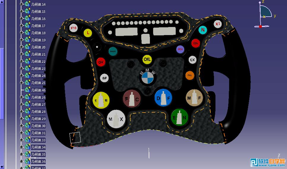 普通汽车方向盘上的按钮一般控制音响,蓝牙电话,定速巡航等.